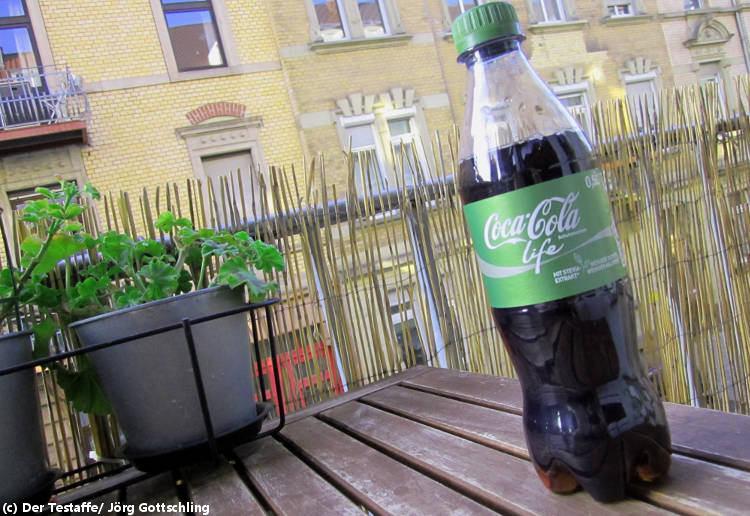Zuckerwasser im Ökorausch: Coca Cola Life